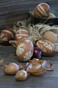 Easter eggs dyed with onion skins - ASF005799