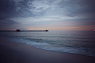 USA, Florida, Naples, Pier at sunset - CHPF000192