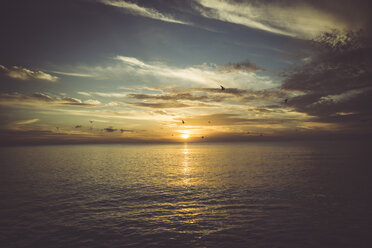 USA, Florida, Naples, sunset over sea - CHPF000195