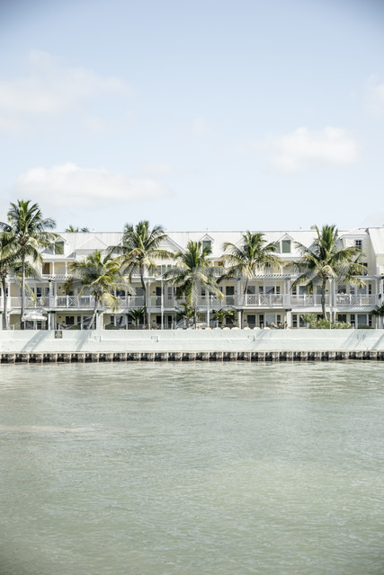 USA, Florida, Key West, houses by the sea - CHPF000202