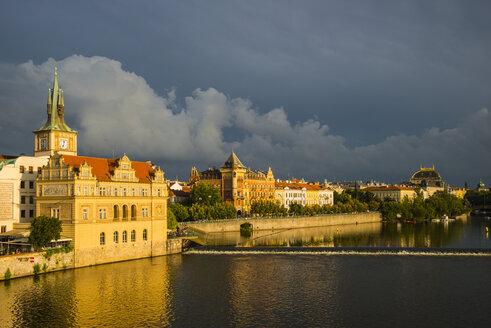 Czech Republic, Prague, Bedrich Smetana Museum at Vltava - WGF000828