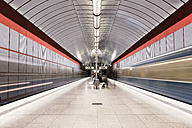 Germany, Munich, indoor view of underground station Kreillerstrasse - FC000830