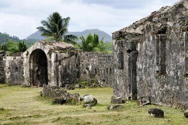 Panama, Portobelo, Bateria de Santiago - STEF000158