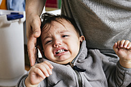 Portrait of crying little boy - GEMF000662