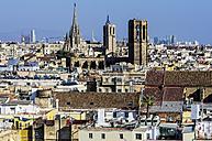 Spain, Barcelona, cityscape - THAF001560