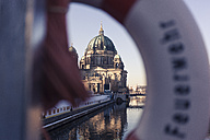 Germany, Berlin, Berlin-Mitte, Berlin Cathedral, lifesaver - ZMF000452