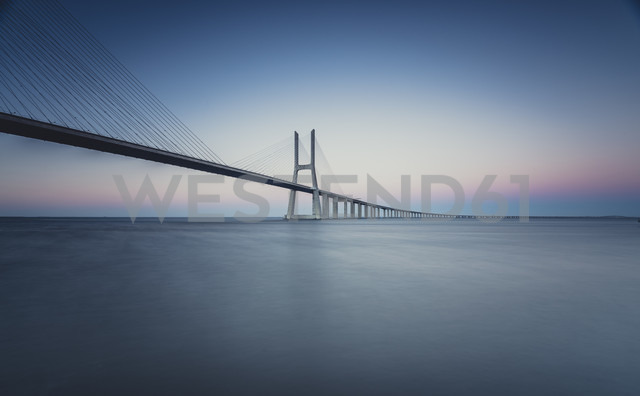 Lissboa, Vasco da Gama bridge in the morning - STCF000188