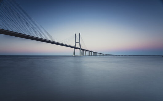 Lissboa, Vasco da Gama bridge in the morning - STCF000188