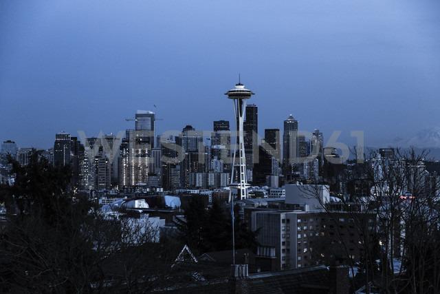 USA, Washington, Seattle, Cityscape at night - NGF000254 - Nadine Ginzel/Westend61