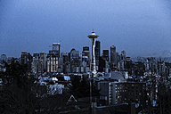 USA, Washington, Seattle, Cityscape at night - NGF000254