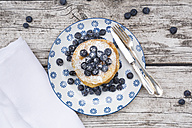 Pancakes with blueberries - LVF004499