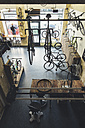Assortment of bicycles in a custom-made bicycle store - JUBF000116