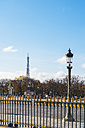 France, Paris, Paris landscape with Eiffel Tower in background - KIJF000143