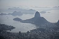 Brazil, Rio de Janeiro, view to the city with Sugarloaf Mountain - MAUF000242