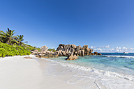 Seychelles, La Digue, Indian Ocean, Anse Cocos, beach - FOF008417