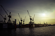 Germany, Hamburg, Port of Hamburg - PUF000479