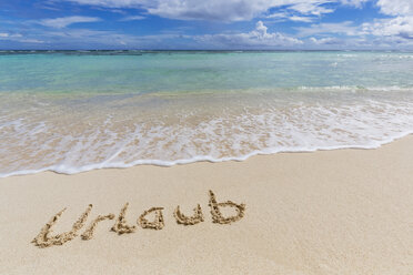 Seychelles, Silhouette Island, Holiday in sand - FOF008435