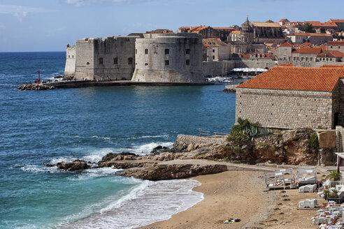 Croatia, Dalmatia, Dubrovnik, Old Town, Adriatic Sea - ABOF000083