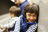 Portrait of smiling boy - VABF000164