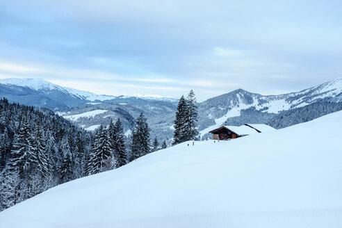 Austria, Salzburg State, Heu Valley, Sonntagshorn, mountain hut - HAMF000153