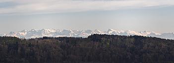 Switzerland, panorama of Alps in spring - KRPF001729