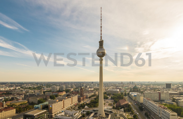 Germany, Berlin, Berlin TV Tower and cityscape - TAMF000365 - A. Tamboly/Westend61