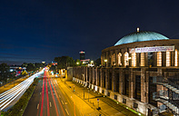 Germany, Dusseldorf, concert hall at night - TAM000380