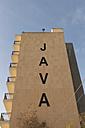 Spain, Palma de Mallorca, facade of hotel 'Java' - VI000450