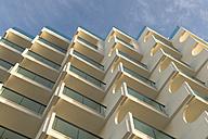 Spain, Palma de Mallorca, facade of a hotel - VIF000453