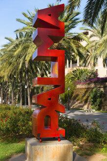 Spain, Palma de Mallorca, promenade Passeig de Sagrera - VI000462