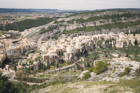 Spain, Cuenca, cityscape - EPF000017