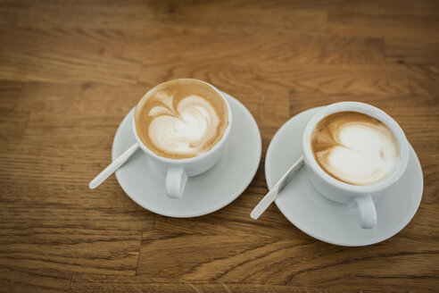Cappuccino with milk froth, two cups - PAF001570