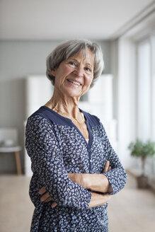 Portrait of confident senior woman at home - RBF004135