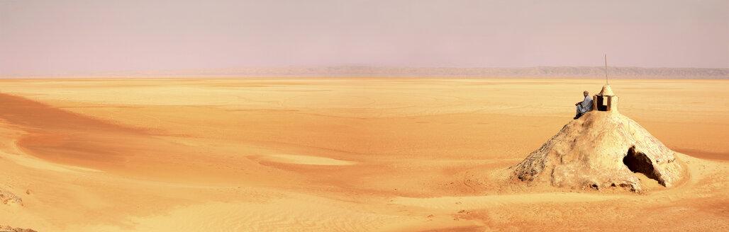 Tunisia, Tozeur, Chott el Djerid, salt pan - DSG001057
