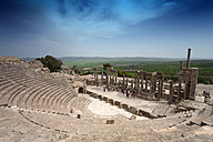 Tunisia, Beja Governorate, Roman ruin of Dougga - DSGF001060