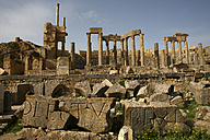 Tunisia, Beja Governorate, Roman ruin of Dougga - DSGF001063