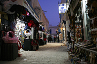 Tunisia, Djerba, Houmt Souk, souk in the evening - DSG001087