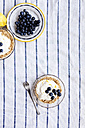 Tarts with lemon curd and blueberries - VABF000339
