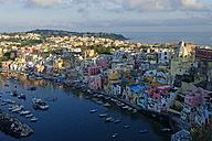 Italy, Campania, Phlegraean Islands, Procida, Marina di Corricella - LBF001408