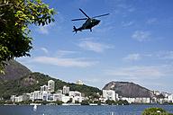 Brazil, Helicopter in Rio De Janeiro - MAUF000303