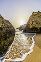 Portugal, Algarve, Coast near Porches in the evening - THAF001583