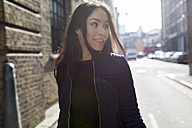 Portrait of attractive young woman on urban street - BOYF000183