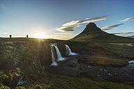 Iceland, Snaefellsnes peninsula, Kirkjufell, waterfall - PAF001664