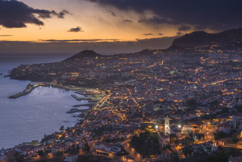 Portugal, Madeira, Funchal at sunset - MKFF000272