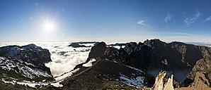 Portugal, Madeira, panoramic view, Pico do Airero - MKFF000284
