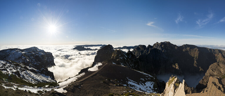 Portugal, Madeira, panoramic view, Pico do Airero - MKFF000284