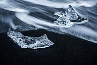 Iceland, Jokulsarlon, ice on the beach - PAF001690