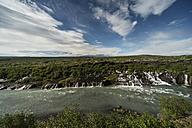 Iceland, Hraunfossar waterfall - PAF001709