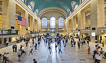 USA, New York City, Manhattan, Grand Central Station - HSI000420