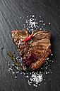Porterhouse steak with salt and spices - CSF027299